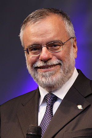 This image shows Andrea Riccardi. The image wa...