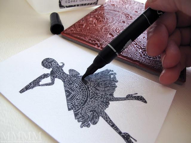 Amber Ink Hostess_magic pattern silhouette