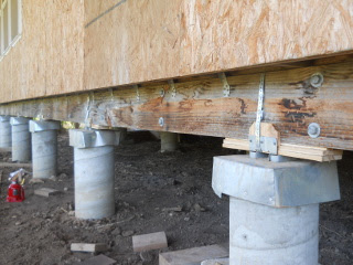 View of Beam with Spacers Set