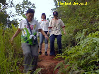 the last descend by KFC, Jessie and Emay
