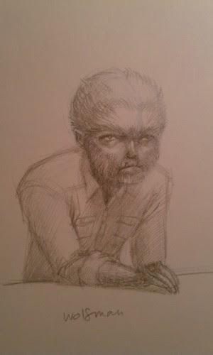 Sketch - Wolfman