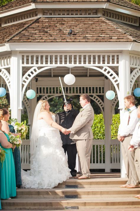 Carolyn and Trini's Disneyland Paradise Pier Hotel Wedding