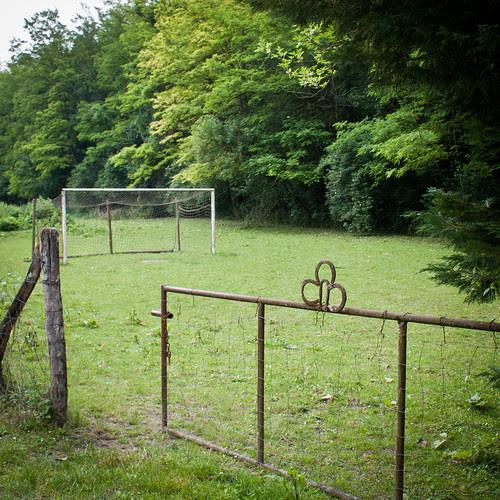 terrain de foot