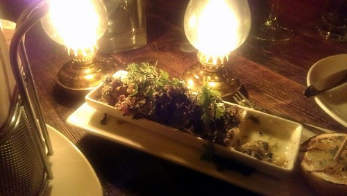 Broiled Oysters @ Craft & Commerce