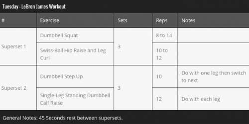 Motivation: LeBron James' Killer Workout And Diet Plan