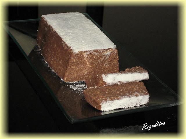 TURRON DE PRALINE DE CHOCOLATE LlGHT