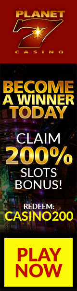 Planet 7│Become a Winner Today│ 200% Slors Bonus