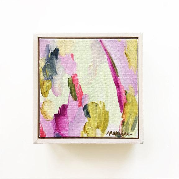 Evangeline Original Oil Abstract Painting Art Mari Orr