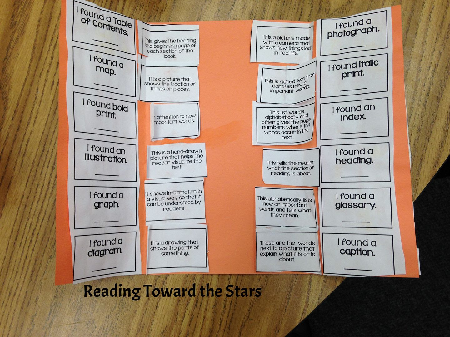 http://www.teacherspayteachers.com/Product/Nonfiction-Text-Features-Flipbook-481734