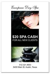 PCS-1036 - salon postcard flyer