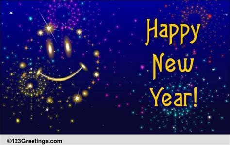 New Year Joy And Smiles. Free Friends eCards, Greeting