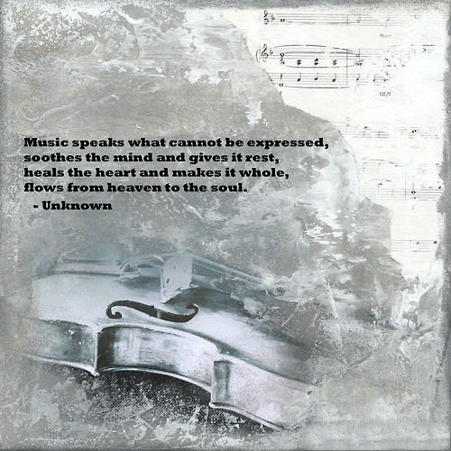 Music Speaks What Cannot Be Expressed Soothes The Mind And Gives It