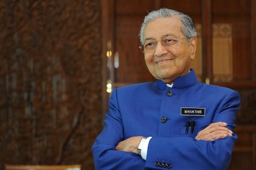 Mahathir Mohamad - Blue Suit