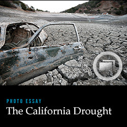 See the photo essay: The California Drought.