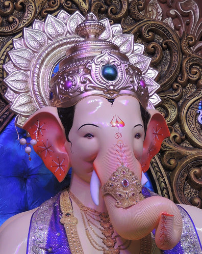 The Remover of All Obstacles Lal Bagh Chya Raja 2012 by firoze shakir photographerno1