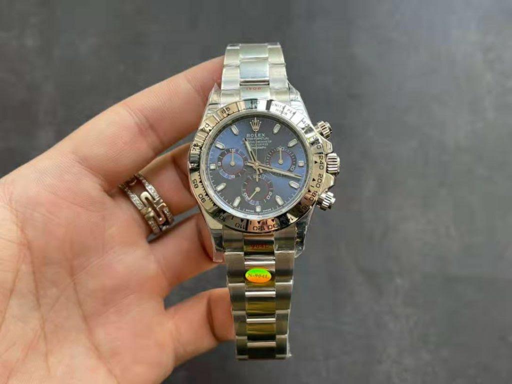 Noob Replica Rolex Daytona Blue