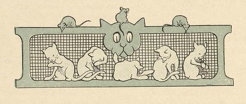 Benjamin Rabier book illustration vignette