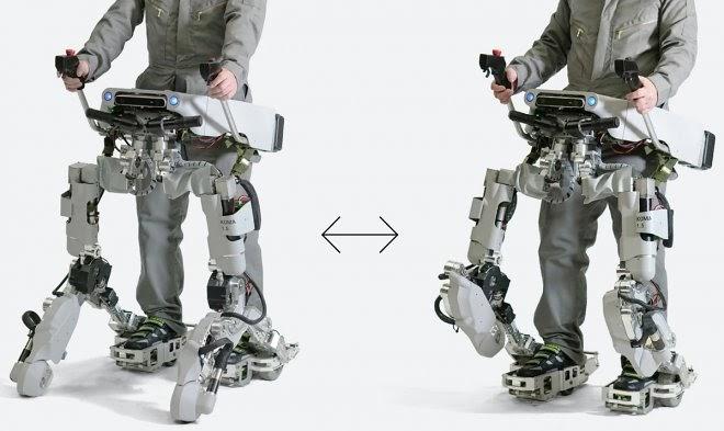 Японский экзоскелет-трансформер Koma способен превращаться в багги