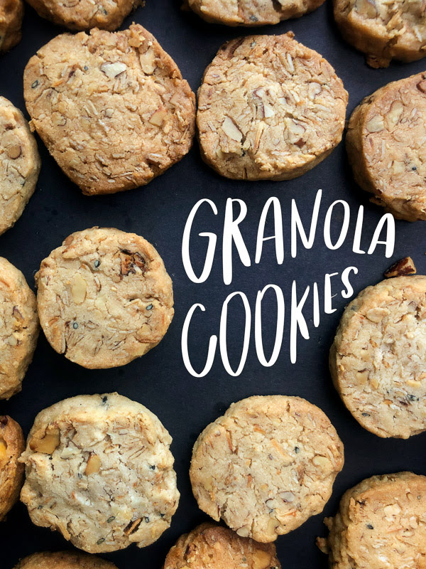 Say hello to your new favorite dessert- Granola Cookies! They're buttery, crispy & crunchy. Find the recipe on Shutterbean.com