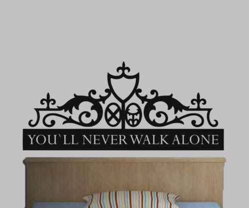 Dekoration You Ll Never Walk Alone Liverpoolgates Sticker Wall Art Graphic Various Colour Mobel Wohnen Elin Pens Ac Id