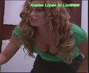 Anelise Lopes sensual na novela Segredo