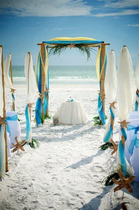 25  best ideas about Yellow beach weddings on Pinterest