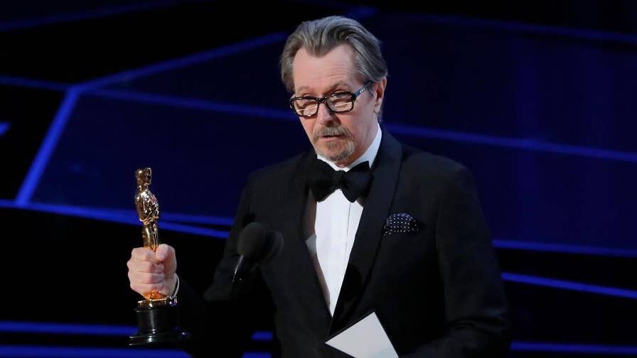 "Gary Oldman took home the Oscar for Best Actor for his role in ""Darkest Hour."" But the    win is raising eyebrows because Oldman was accused of domestic abuse by an ex-wife."
