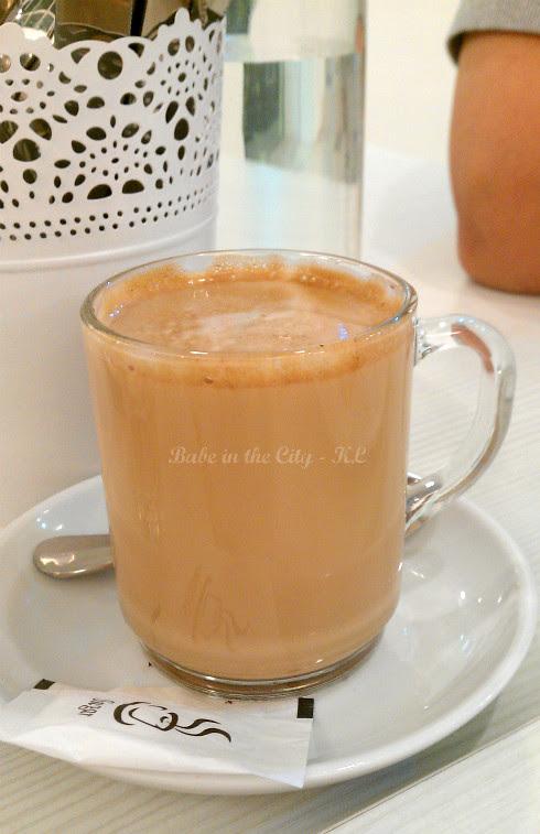 Latte (RM8)