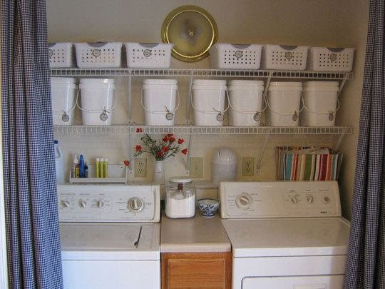 na lavanderia