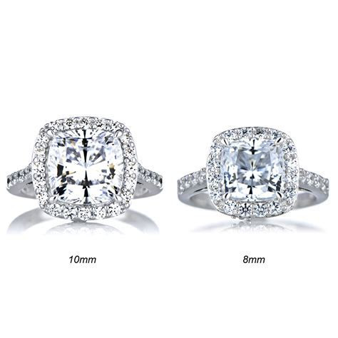 Cushion Cut Diamond: Cushion Cut Diamond With Halo