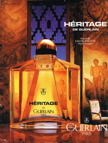PUBLICITE-ADVERTISING-015-1995-GUERLAIN-parfum-homme-HERITAGE