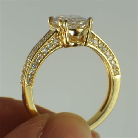 Diamonds and Rings Create a Unique Engagement Ring with a