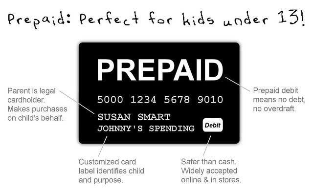Prepaid: Perfect for kids under 13!