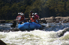 rafting on the James River, Richmond, VA 9/8/2005