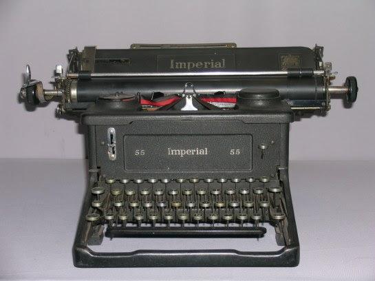 La antigua máquina de códigos Imperial 55