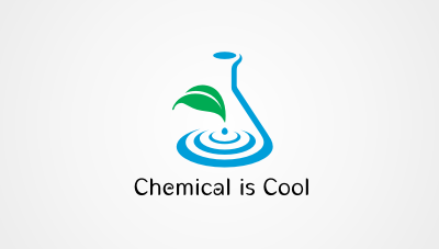 Chemical is Cool : Icon for a chemical company's campaign logo design