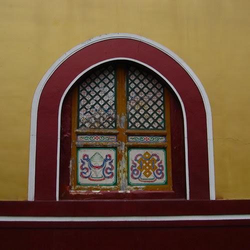 Temple window, EmeiShan, Sichuan
