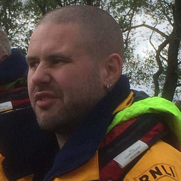 Navigator Steve Boocock (pictured) is another Whitby volunteer who has quit over the mug