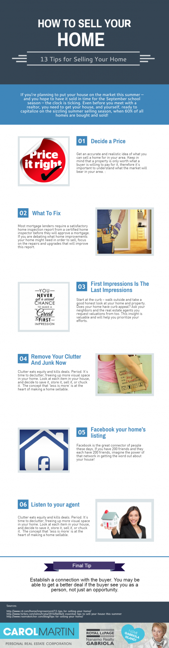 How to Sell Your Home Fast and Quick In Gabriola Island (INFOGRAPHIC)