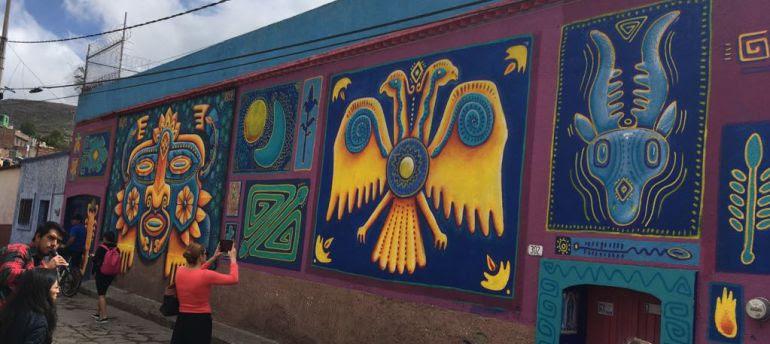 Ponen En Marcha Ciudad Mural Zacatecas Nacional W Radio Mexico