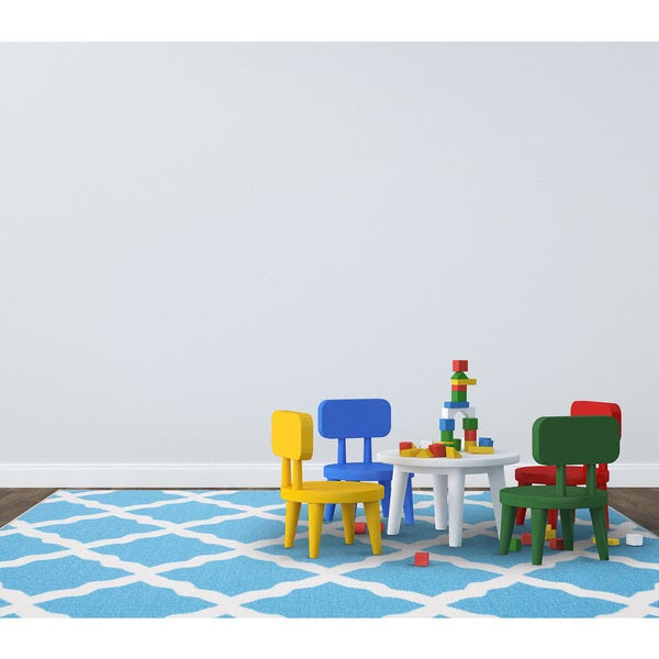 http://www.overstock.com/Home-Garden/Glamour-Collection-Blue-Contemporary-Moroccan-Trellis-Design-Kids-Rug-Non-slip-Kitchen-and-Bathroom-Mat-Rug-82-x-910/10131505/product.html