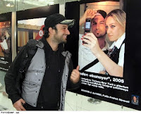 Tarkan at airport