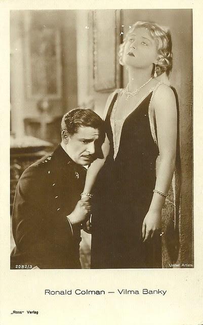 Vilma Banky & Ronald Colman