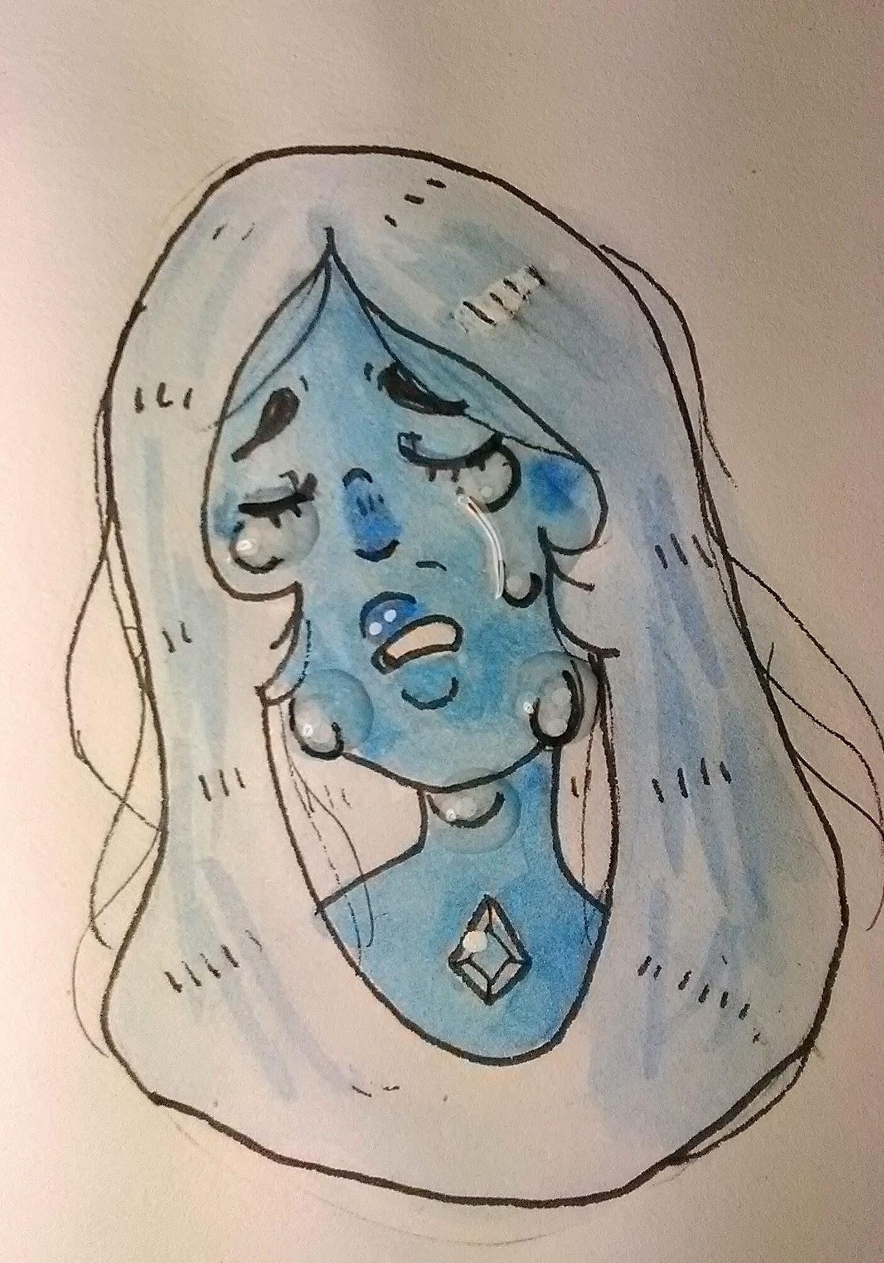 Quick Blue doodle