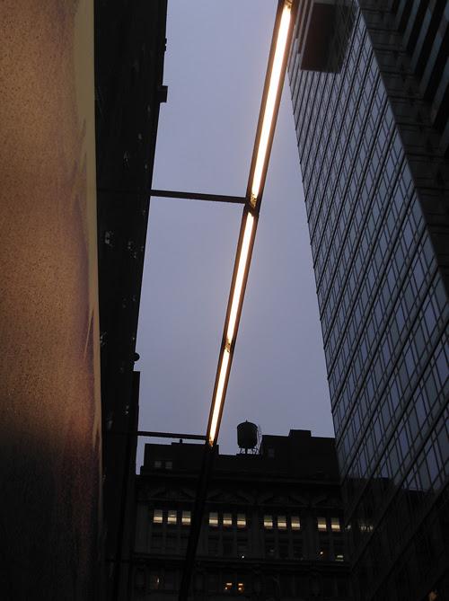 bar of light, Manhattan, New York City, NYC