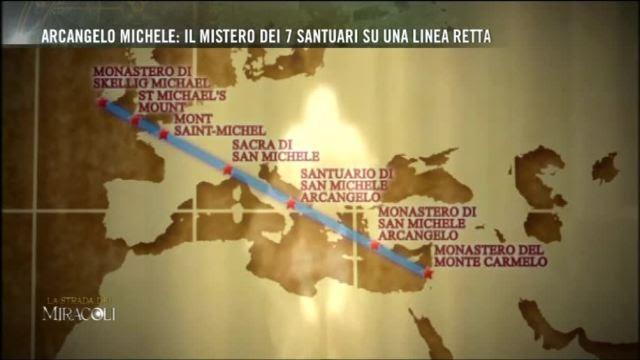 Risultati immagini per 7 santuari dedicati all'Arcangelo Michele