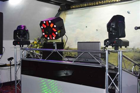 Quality mobile DJ equipment for once in a lifetime events