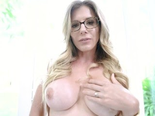 Step Mom Caught Me Looking at her Only Fans Site - Cory Chase