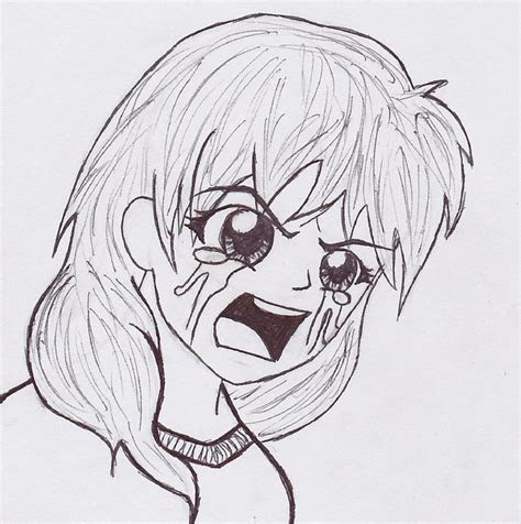 pictures drawings  anime people crying drawings art