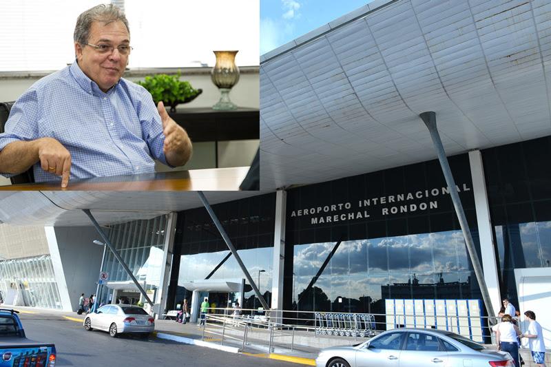 Secretário de cidades decide rumo de obra no aeroporto ainda hoje